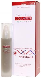 Přírodní kolagen Inventia HAIR & NAILS - na VLASY A NEHTY (dříve GRAPHITE) - Triple Helix Formula