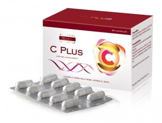 Čistý vitamin C PLUS 60 ks - z plodů  Šípkové růže, Aceroly, Goji (Kustovnice čínské), Momordiky - 2 měsíční balení